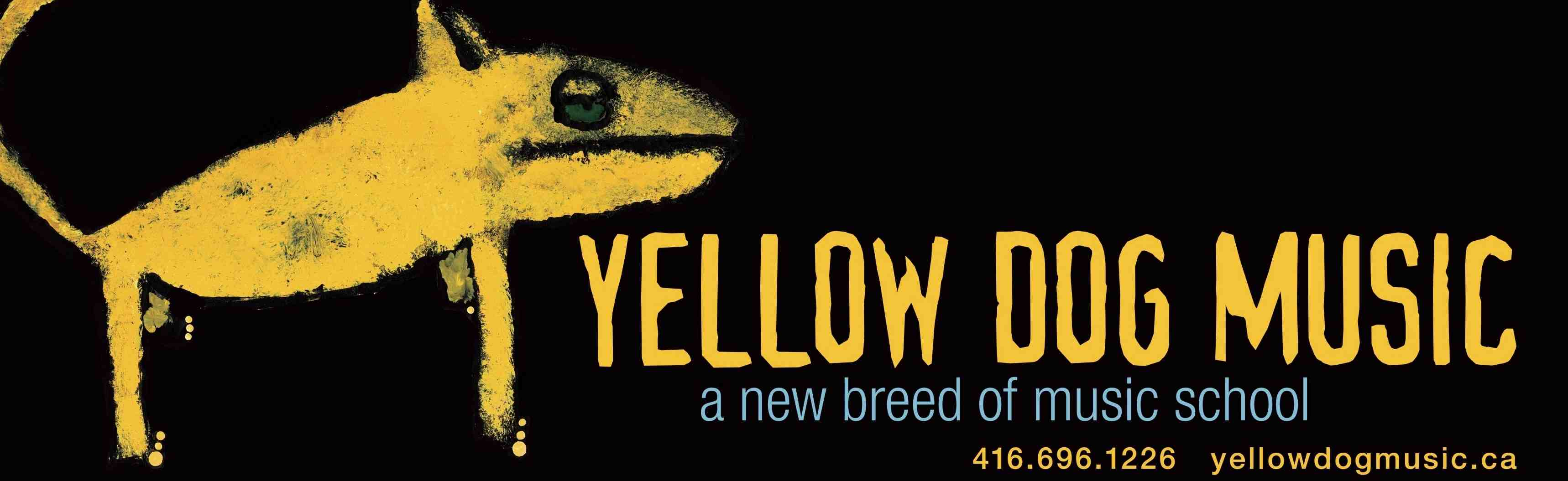 yellow dog banner for web?